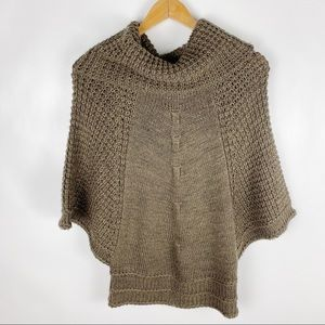 ⛄Love Stitch Small Brown Chunky Knit Sweater